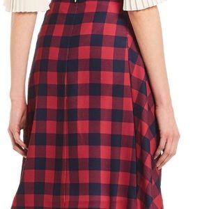 NWT Draper James Plaid Skirt